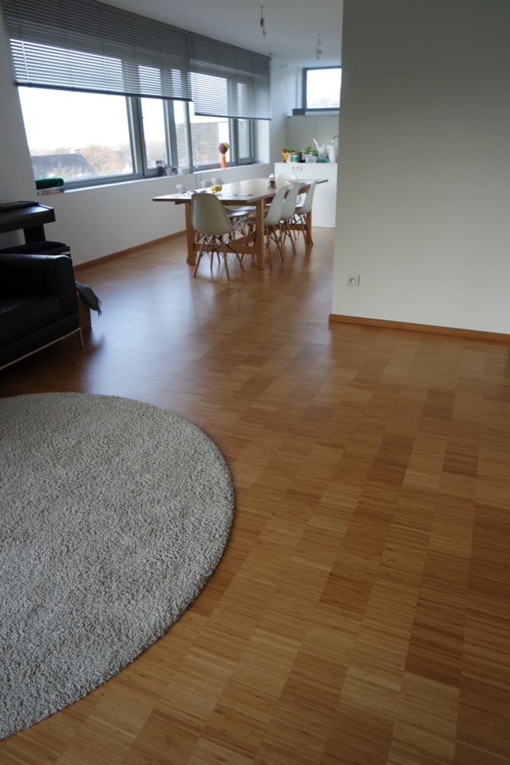 bamboe vloer in keuken