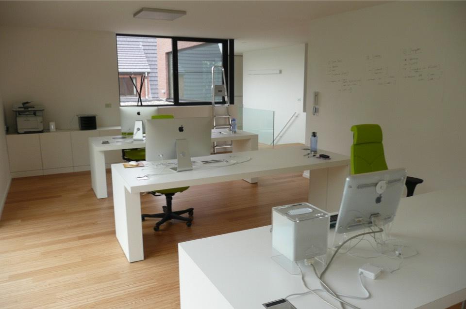 bamboevloer kantoor