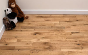 sorteringen houten vloer